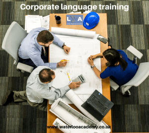 Corporate Business language training lessons London Waterloo academy Spanish French Italian German Brazilian Portuguese