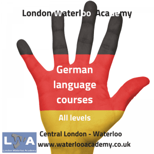 German language courses London Waterloo academy