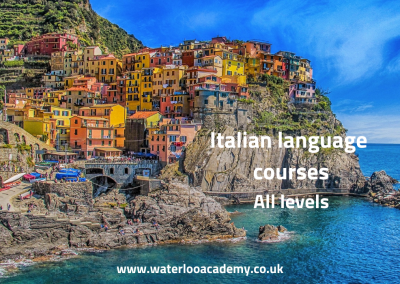 Italian language courses london waterloo academy lessons all levels