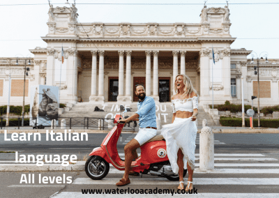 Italian language lessons London Waterloo academy