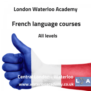 French language courses London Waterloo academy
