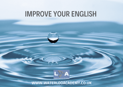 English language (EFL, ESOL) – Intermediate/Upper-intermediate (B1/B2) London Waterloo Academy