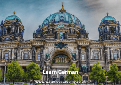 German language courses lessons London Waterloo academy