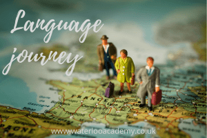 Spanish French Italian German Brazilian Portuguese Language journey London Waterloo Academy