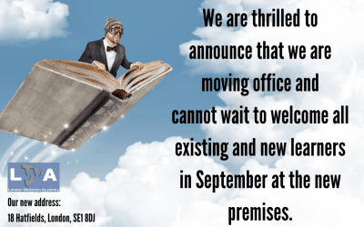 We are moving our office