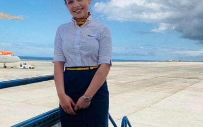 Congratulations to Sara on successful start of Airline Cabin Crew career!!