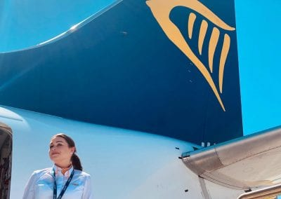 Oliwia Airline Cabin Crew courses jobs London Waterloo Academy